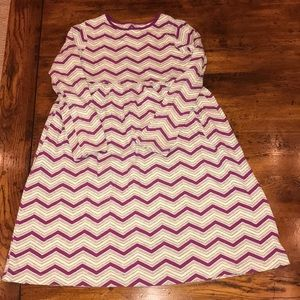 Girls size 7/8 Small Lands End dress